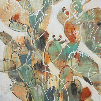 Prickly Pear Dance I
