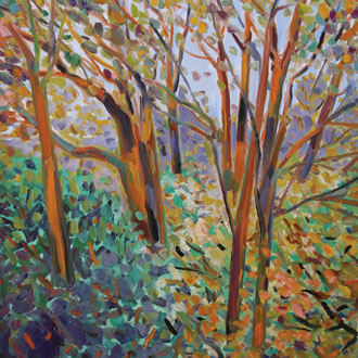 Landscape Trees on Canvas, Series 1