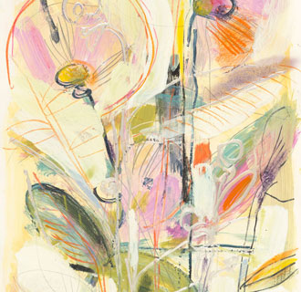 Abstract Gardens on Paper, Series 1